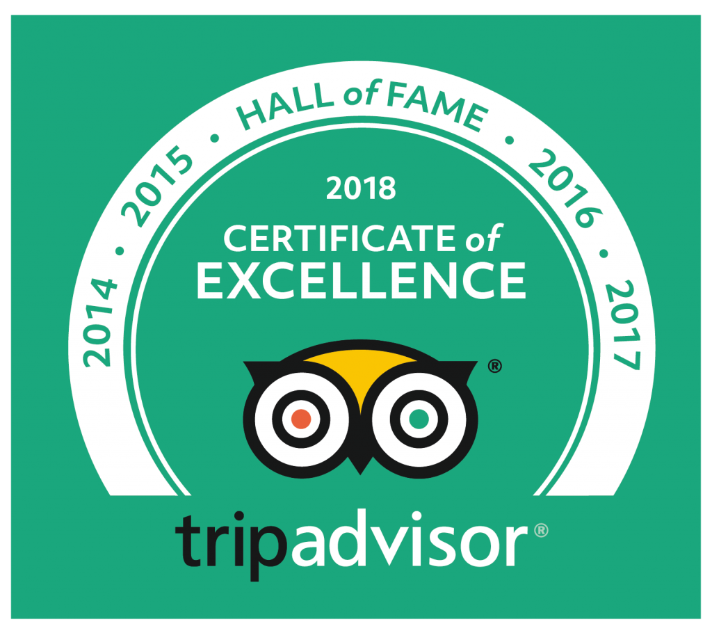 Trip Advisor Certificate of excellence hall of fame sanibel island
